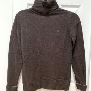 Esprit Brown Knit Turtle Neck Sweater